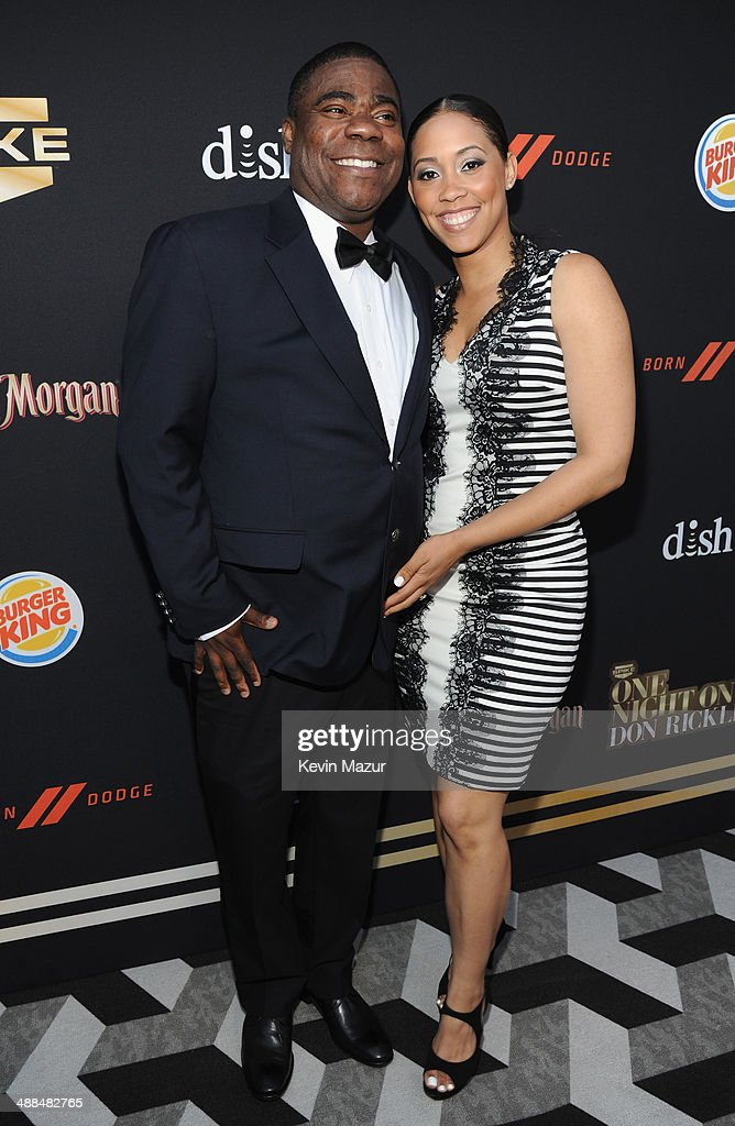 <a gi-track='captionPersonalityLinkClicked' href=/galleries/search?phrase=Tracy+Morgan&family=editorial&specificpeople=182428 ng-click='$event.stopPropagation()'>Tracy Morgan</a> and Meghan Wollover attend the Spike TV's 'Don Rickles: One Night Only' on May 6, 2014 in New York City.