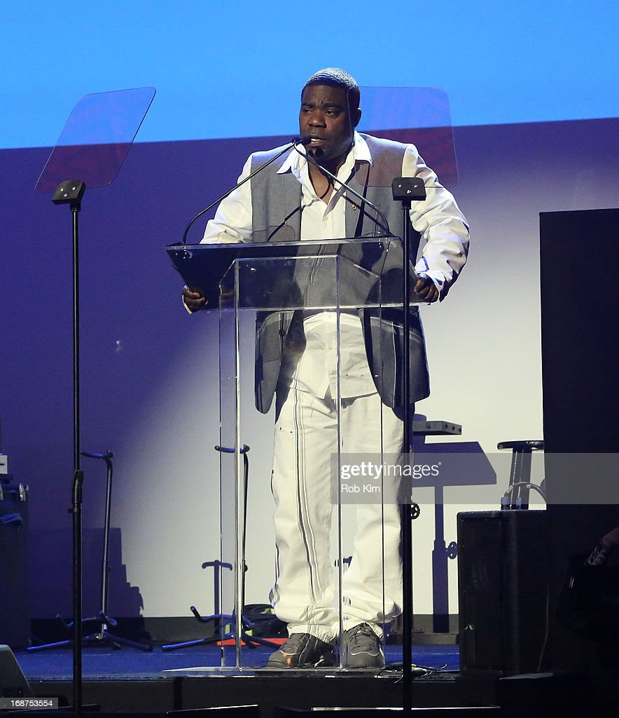 <a gi-track='captionPersonalityLinkClicked' href=/galleries/search?phrase=Tracy+Morgan&family=editorial&specificpeople=182428 ng-click='$event.stopPropagation()'>Tracy Morgan</a> attends Macy's launches 'American Icons' at Gotham Hall on May 14, 2013 in New York City.