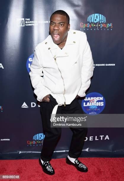 Tracy Morgan attends the 2017 Garden Of Laughs Comedy Benefit at The Theater at Madison Square Garden on March 28 2017 in New York City