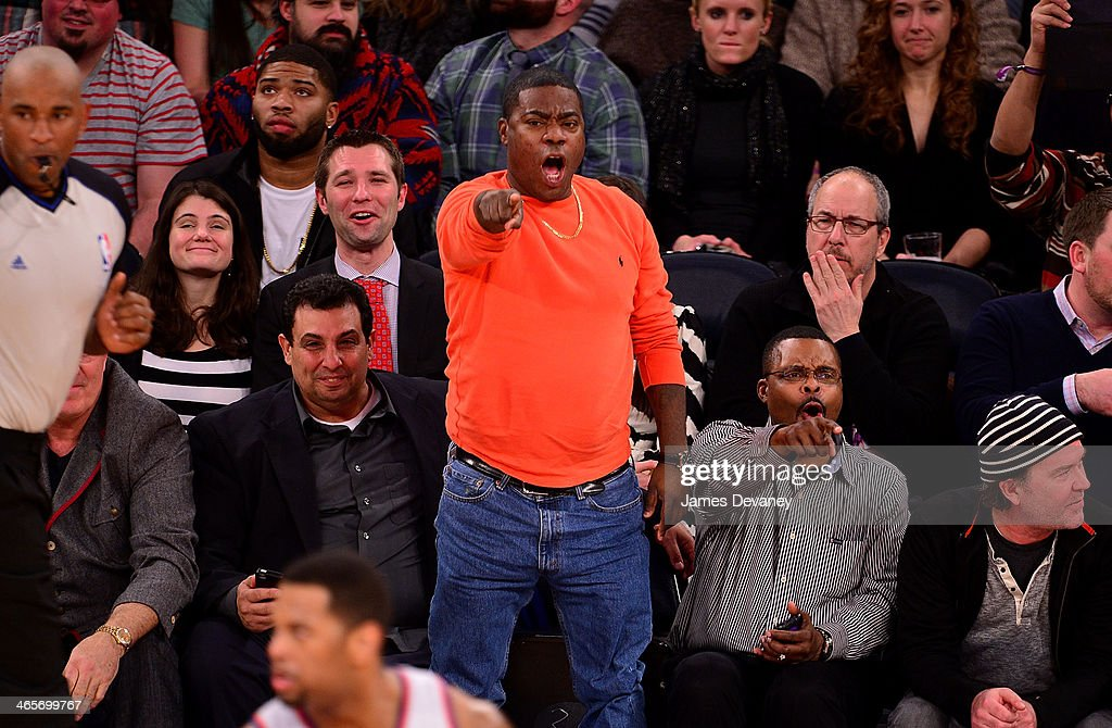 <a gi-track='captionPersonalityLinkClicked' href=/galleries/search?phrase=Tracy+Morgan&family=editorial&specificpeople=182428 ng-click='$event.stopPropagation()'>Tracy Morgan</a> attends the Boston Celtics vs New York Knicks game at Madison Square Garden on January 28, 2014 in New York City.