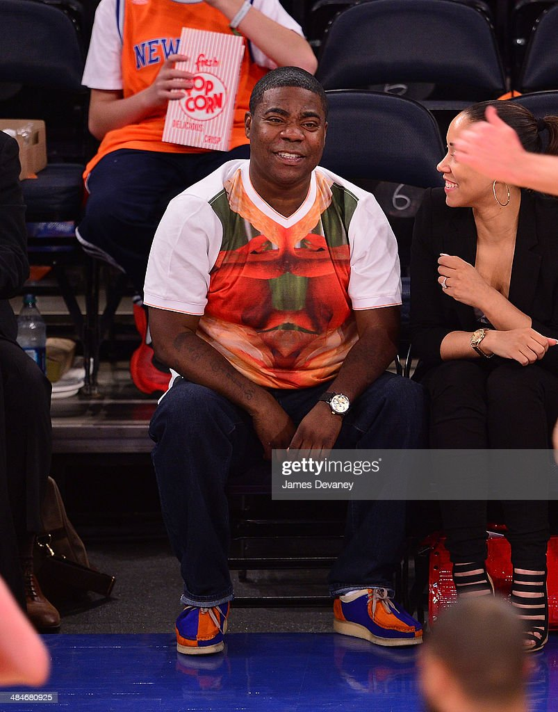 <a gi-track='captionPersonalityLinkClicked' href=/galleries/search?phrase=Tracy+Morgan&family=editorial&specificpeople=182428 ng-click='$event.stopPropagation()'>Tracy Morgan</a> attends the Chicago Bulls vs New York Knicks game at Madison Square Garden on April 13, 2014 in New York City.