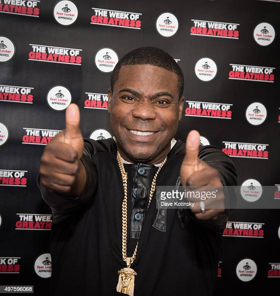 Tracy Morgan attends the Fourth Annual Week Of Greatness Kick Off Event Hosted By Tracy Morgan at The Wooly on November 17 2015 in New York City