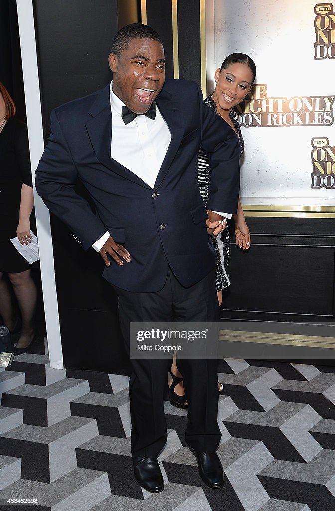 <a gi-track='captionPersonalityLinkClicked' href=/galleries/search?phrase=Tracy+Morgan&family=editorial&specificpeople=182428 ng-click='$event.stopPropagation()'>Tracy Morgan</a> attends the Spike TV's 'Don Rickles: One Night Only' on May 6, 2014 in New York City.