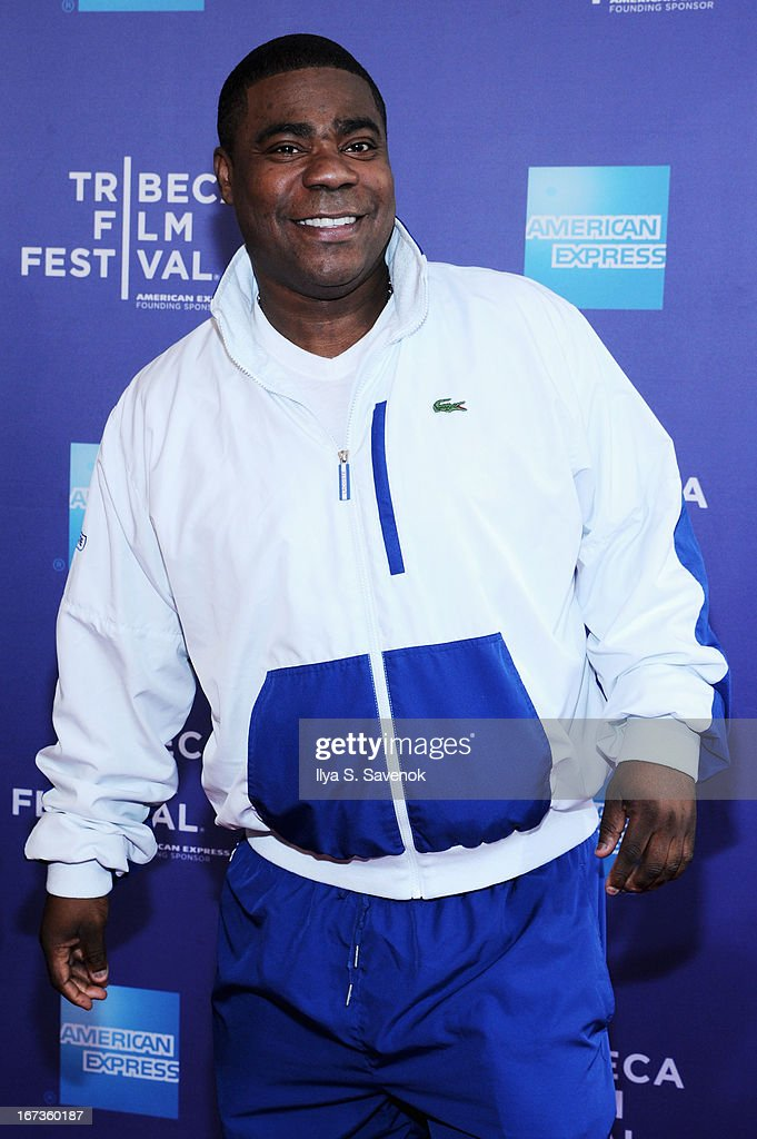 Tracy Morgan attends Tribeca Talks The Artist's Angle 'Richard Pryor Omit The Logic' during the 2013 Tribeca Film Festival on April 24 2013 in New...