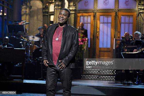 LIVE 'Tracy Morgan' Episode 1686 Pictured Tracy Morgan during the monologue on October 17 2015