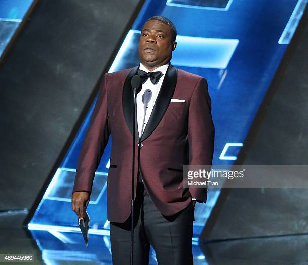 Tracy Morgan onstage during the 67th Annual Primetime Emmy Awards held at Microsoft Theater on September 20 2015 in Los Angeles California