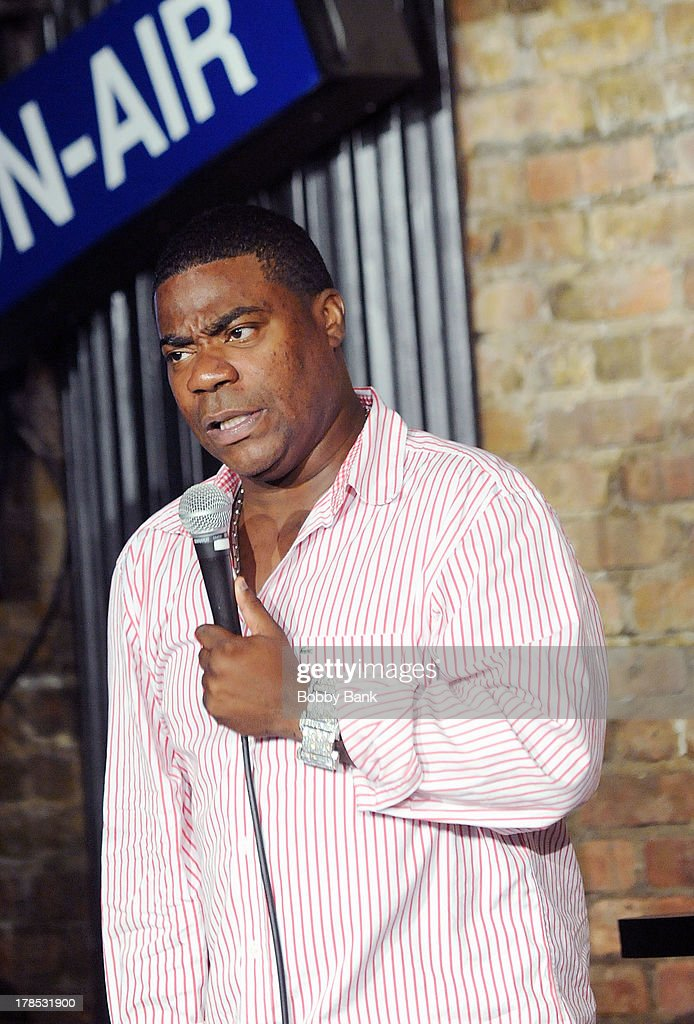 <a gi-track='captionPersonalityLinkClicked' href=/galleries/search?phrase=Tracy+Morgan&family=editorial&specificpeople=182428 ng-click='$event.stopPropagation()'>Tracy Morgan</a> performs at The Stress Factory Comedy Club on August 29, 2013 in New Brunswick, New Jersey.