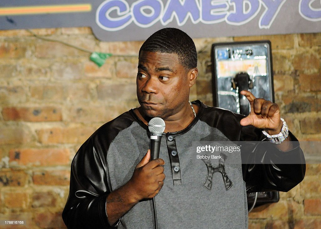 Tracy Morgan performs at The Stress Factory Comedy Club on August 30, 2013 in New Brunswick, New Jersey.