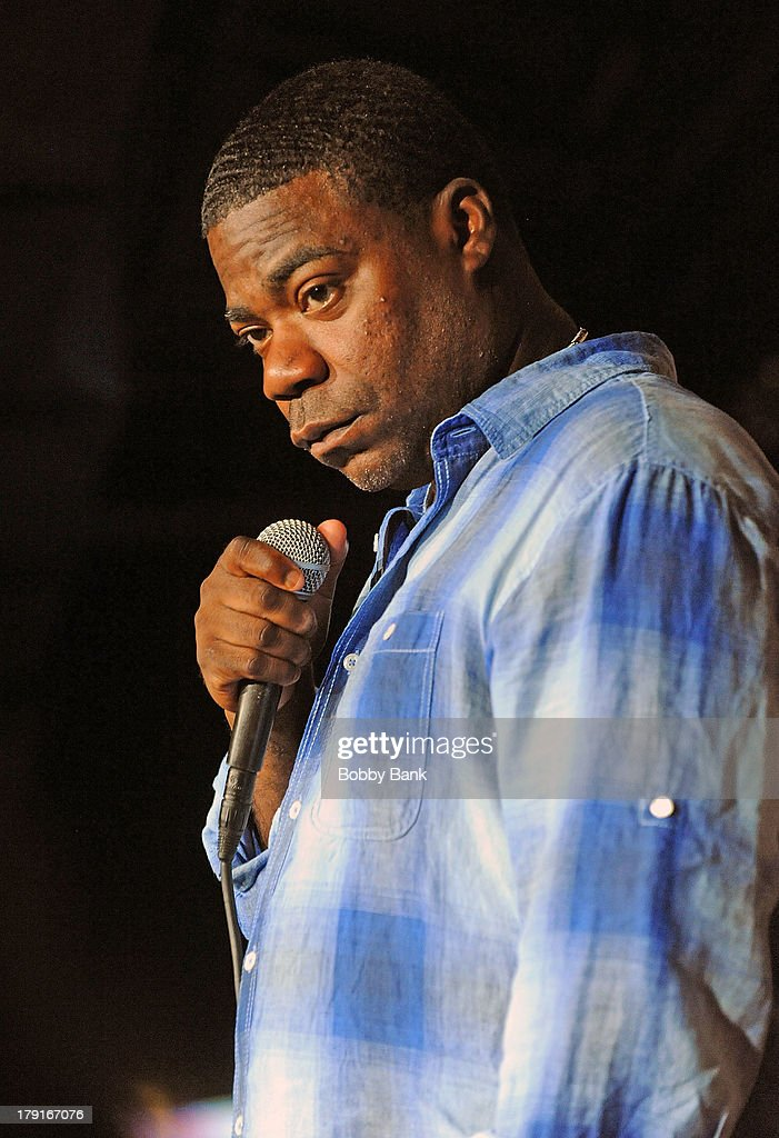 Tracy Morgan performs at The Stress Factory Comedy Club on August 31, 2013 in New Brunswick, New Jersey.
