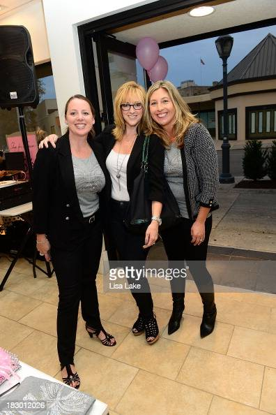 Tracy Murray Randi Rentz and Liz Bohan attend the Shop For A Cause with Living Beyond Breast Cancer and People StyleWatch hosted at White House/Black...