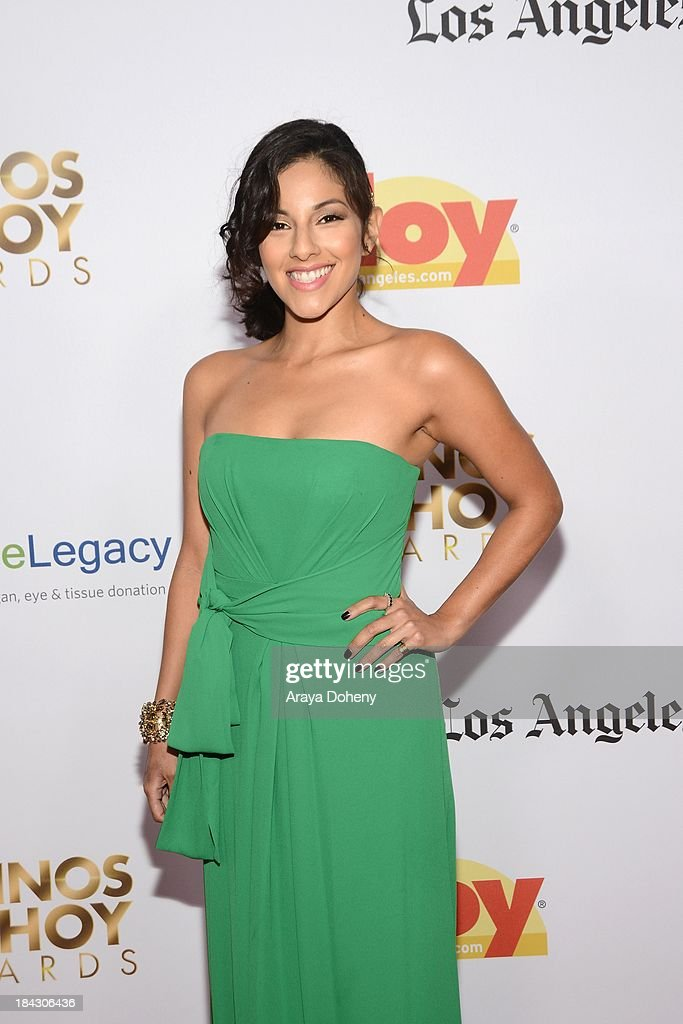 Tracy Perez attends the 2013 Latinos de Hoy Awards at Los Angeles Times' Chandler Auditorium on October 12, 2013 in Los Angeles, California.