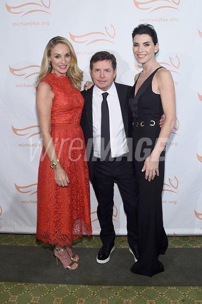 Tracy Pollan Michael J Fox...