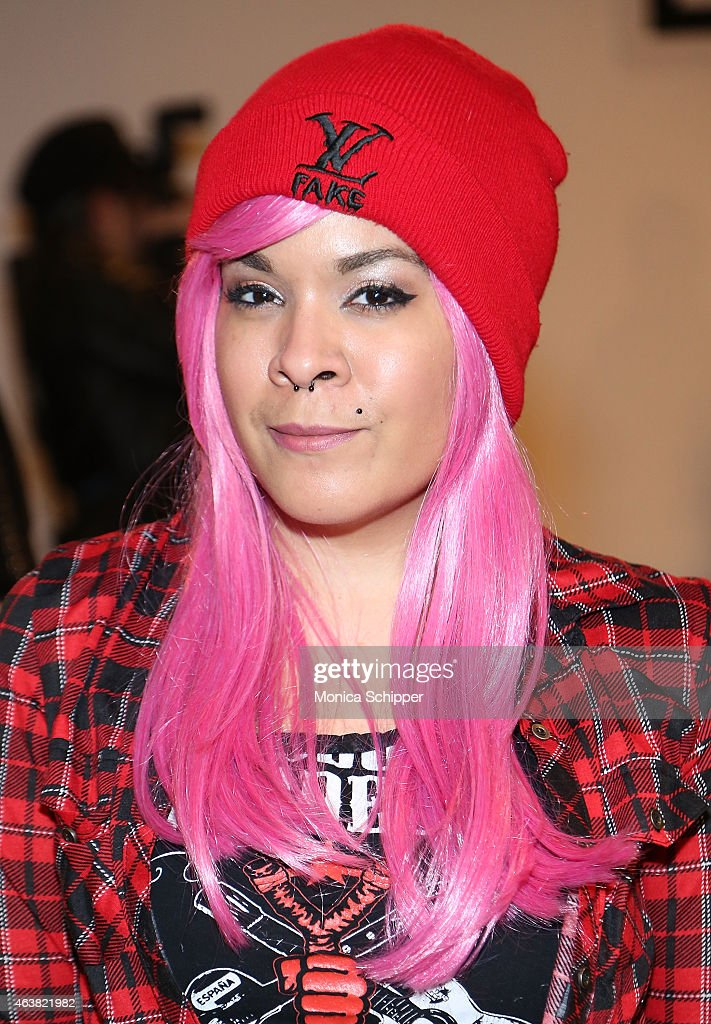 Tracy Prock attends The Blonds fashion show during MADE Fashion Week Fall 2015 at Milk Studios on February 18, 2015 in New York City.