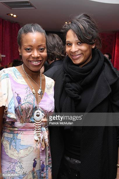 Tracy Reese and Julie Wilson attend TRACY REESE Secret Garden Party at Tracy Reese Boutique on March 27 2008 in New York City