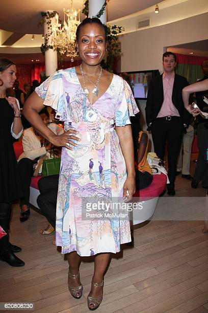 Tracy Reese attends TRACY REESE Secret Garden Party at Tracy Reese Boutique on March 27 2008 in New York City
