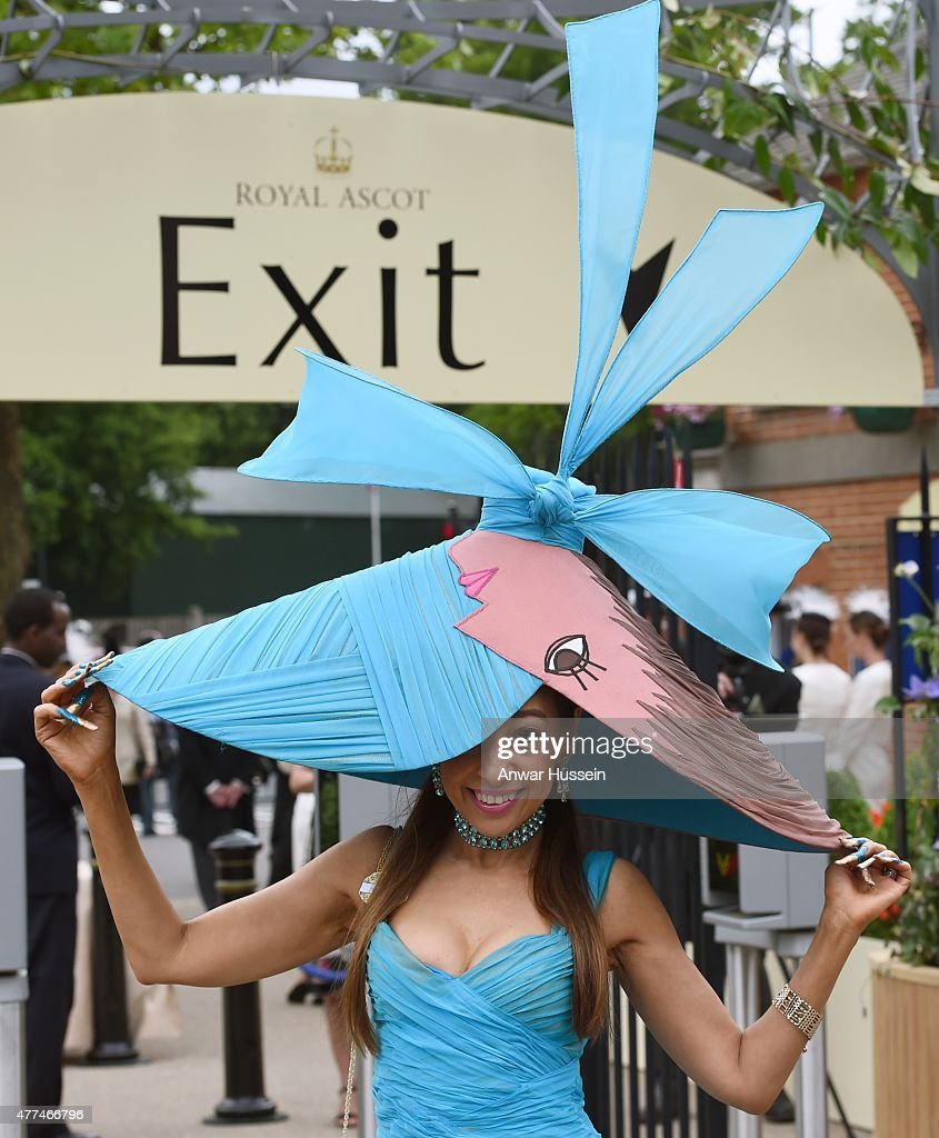 Tracy Rose attends day 2 of Royal Ascot on June 17 2015 in Ascot England