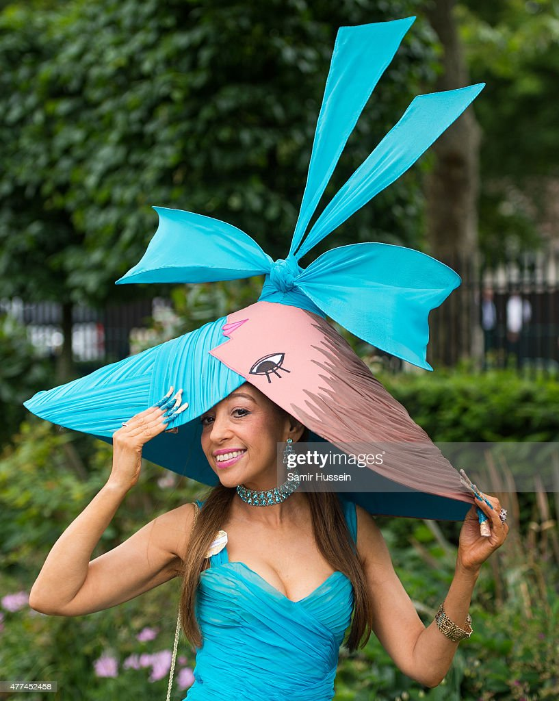 Tracy Rose attens day 2 of Royal Ascot at Ascot Racecourse on June 17 2015 in Ascot England
