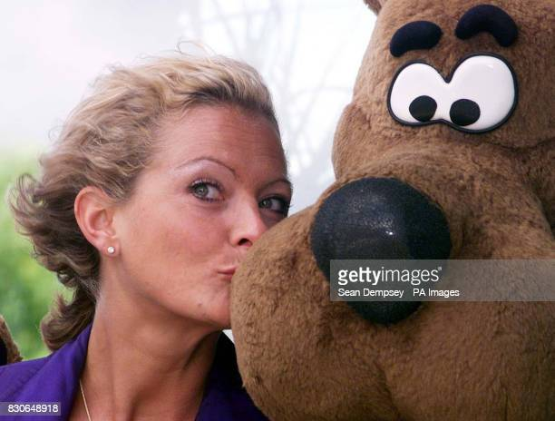 Tracy Shaw and Scooby Doo at the launch of ITV Digital in London The service is jointly owned by Carlton and Granada and was formerly known as...