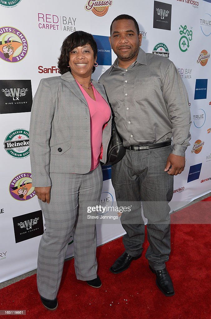 Tracy Smith and Dario Smith (L-R) attend the 6th Annual 'Where Hip Hop Meets Couture' Fashion Show at Dog Patch Wine Works on March 30, 2013 in San Francisco, California.