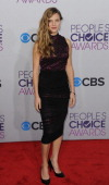 Tracy Spiridakos arrives at the 2013 People's Choice Awards at Nokia Theatre LA Live on January 9 2013 in Los Angeles California