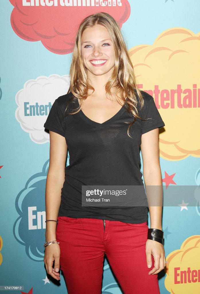 Tracy Spiridakos arrives at the Entertainment Weekly's Annual Comic-Con celebration held at Float at Hard Rock Hotel San Diego on July 20, 2013 in San Diego, California.