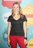 Tracy Spiridakos arrives at the Entertainment Weekly's Annual ComicCon celebration held at Float at Hard Rock Hotel San Diego on July 20 2013 in San...