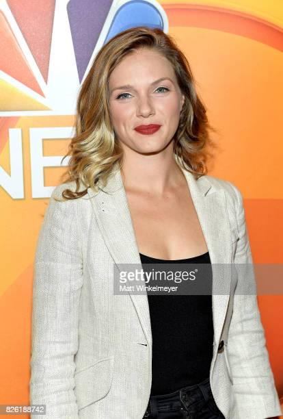 Tracy Spiridakos at the NBCUniversal Summer TCA Press Tour at The Beverly Hilton Hotel on August 3 2017 in Beverly Hills California