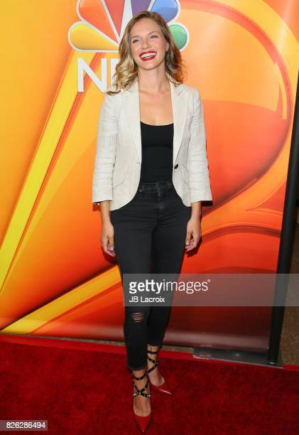 Tracy Spiridakos attends the 2017 Summer TCA Tour 'NBCUniversal Press Tour' on August 03 2017 in Los Angeles California