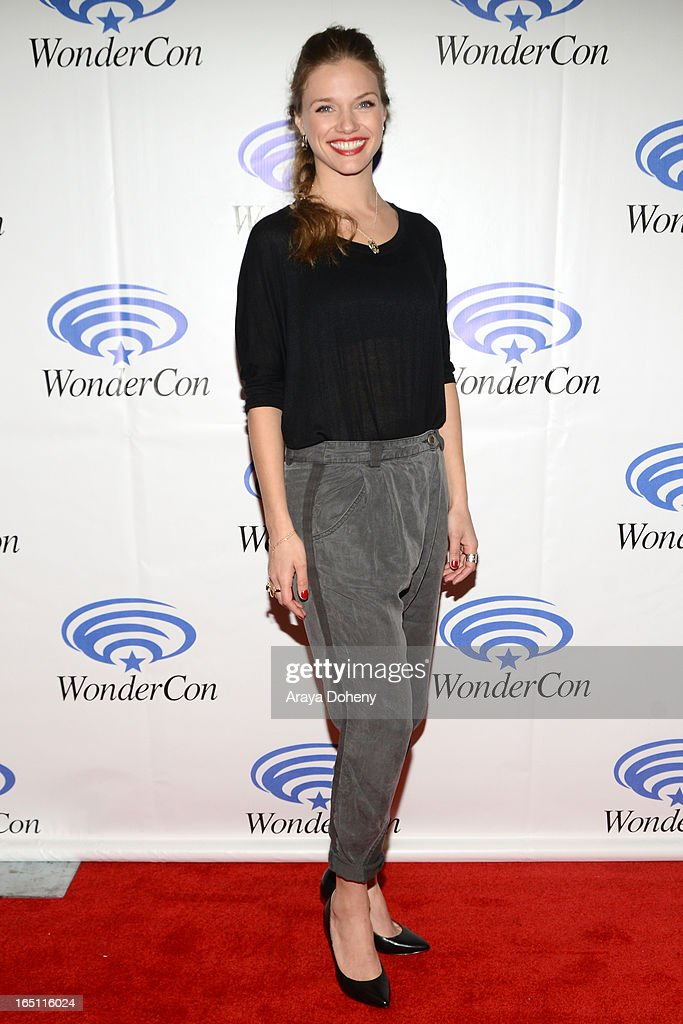Tracy Spiridakos attends WonderCon Anaheim 2013 - Day 2 at Anaheim Convention Center on March 30, 2013 in Anaheim, California.