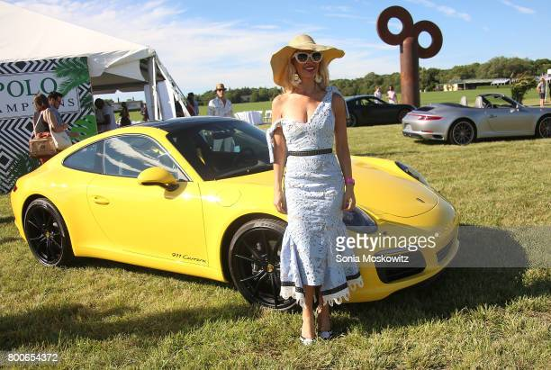 Tracy Stern attends the First Annual Polo Hamptons Match at Southampton Polo Club on June 24 2017 in New York City
