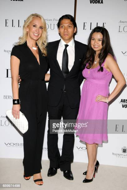 Tracy Stern Robbie Antonio and MinaJacqueline Au attend AMERICAN FRIENDS OF THE LOUVRE's Young Patrons Circle Soiree au Louvre 2009 at The Centurion...