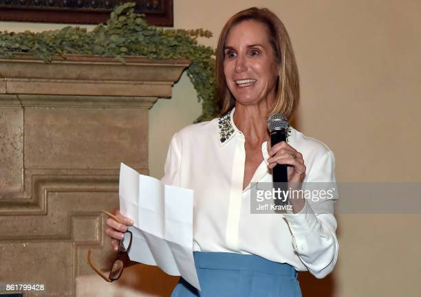 Tracy Sykes at an Evening With Thomas L Friedman and Common Sense Media on October 15 2017 at the Bel Air Bay Club in Pacific Palisades CA