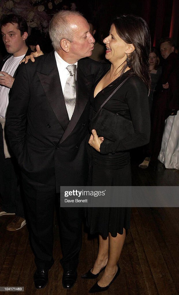 Tracy Ullman With Her Husband Who Produces The Show, Jerry Springer Opera In The West End Opens At The Cambridge Theatre In Covent Garden, Then Party At The Whitehall Banquetting Rooms