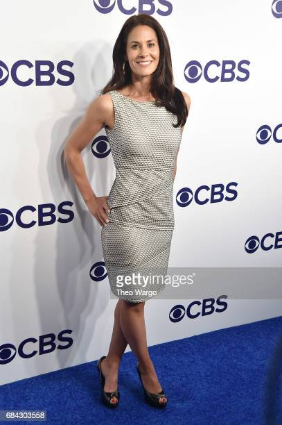 Tracy Wolfson attends the 2017 CBS Upfront on May 17 2017 in New York City