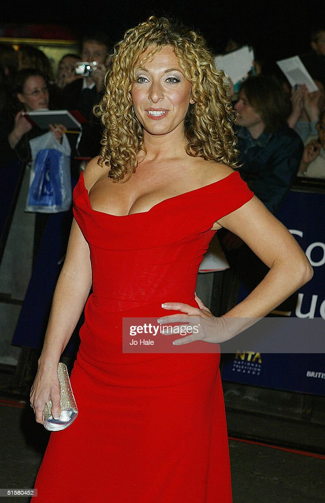 Tracy-Ann Oberman arrives at the '10th Anniversary National Television Awards' at the Royal Albert Hall on October 26, 2004 in London. The star-studded awards ceremony awards prizes as voted for by members of the public.