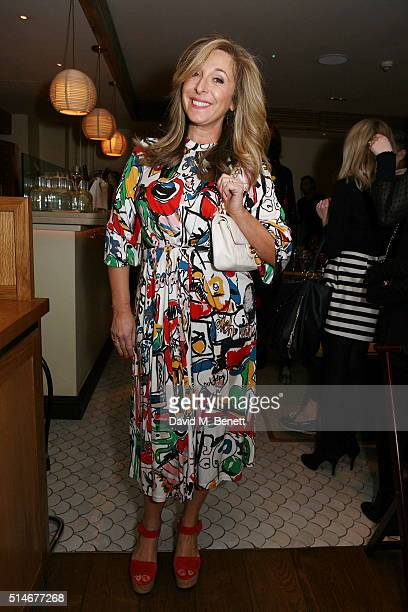 TracyAnn Oberman attends a VIP charity dinner hosted by Red Magazine in aid of mothers2mothers as part of Red's International Women's Day celebration...