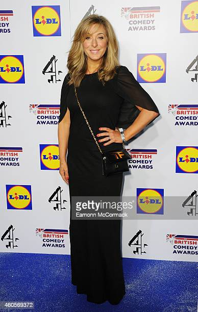 TracyAnn Oberman attends the British Comedy Awards at Fountain Studios on December 16 2014 in London England