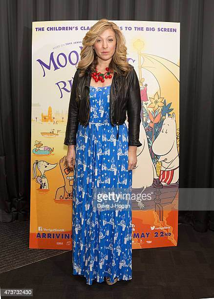 TracyAnn Oberman attends the premiere of 'Moomins on the Riviera' at BFI Southbank on May 17 2015 in London England