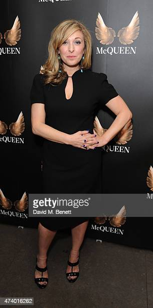 TracyAnn Oberman attends the press night performance of 'McQueen' at the St James Theatre on May 19 2015 in London England