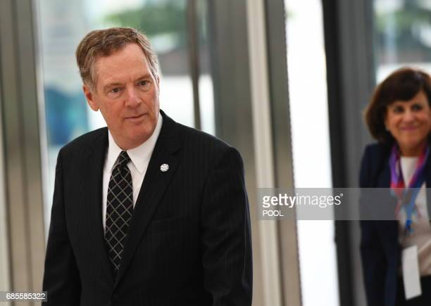 US Trade Representative Robert Lighthizer arrives to attend the AsiaPacifics Economic Cooperation 23rd Ministers responsible for Trade Meeting at the...