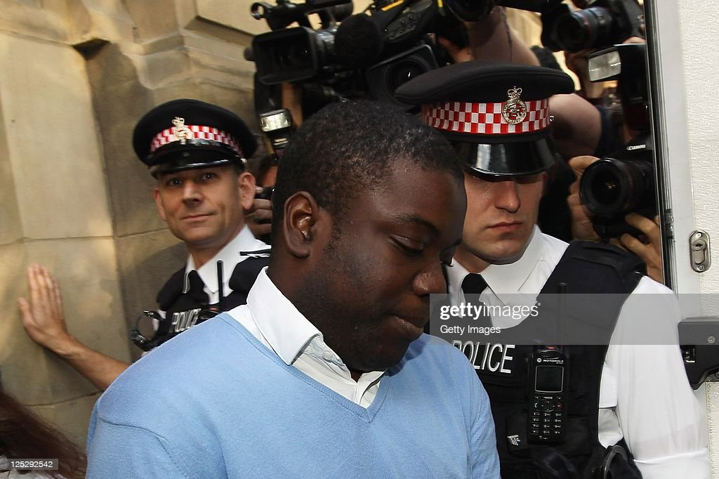 UBS trader <a gi-track='captionPersonalityLinkClicked' href=/galleries/search?phrase=Kweku+Adoboli&family=editorial&specificpeople=8256036 ng-click='$event.stopPropagation()'>Kweku Adoboli</a> leaves the City of London Magistrates court on September 16, 2011 in London, England. Mr Adoboli was arrested yesterday while working at the Swiss banking group UBS. and has been remanded in custody charged with fraud and false accounting in relation to unauthorised trading leading to losses at UBS of USD2 billion.