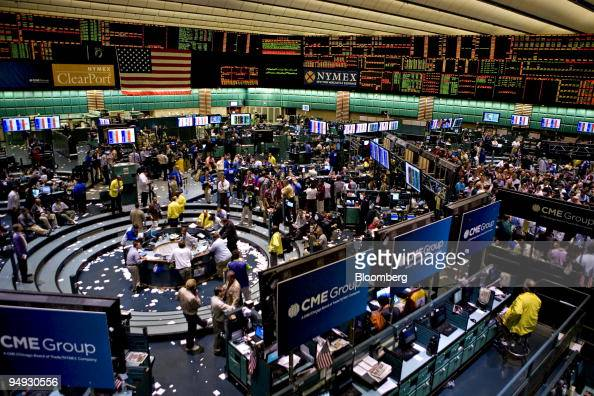 Options trading floor