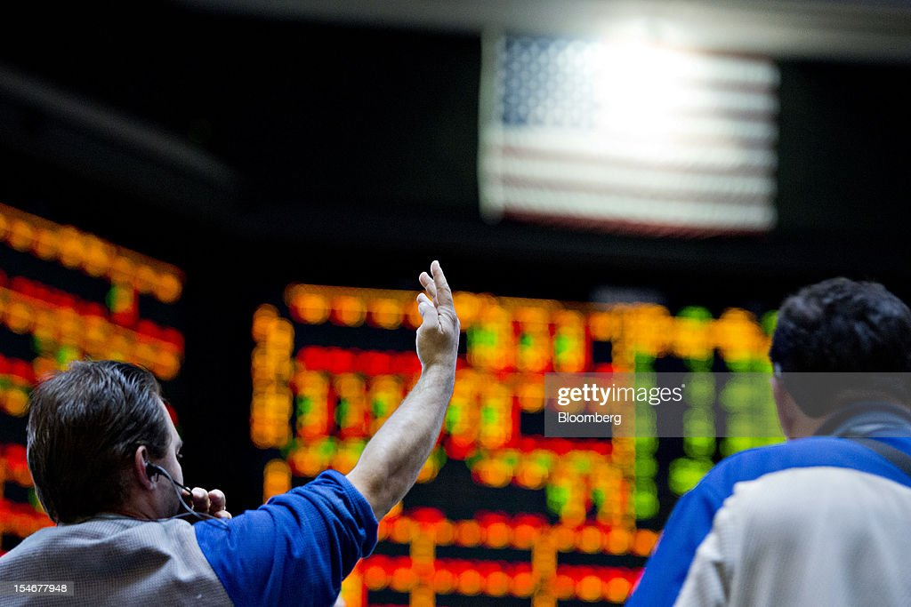 Option trading pit