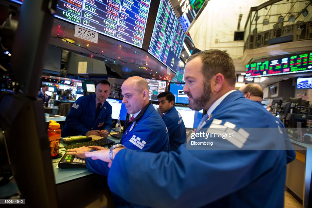 Trading On The Floor Of The NYSE As U.S. Stocks Rise Despite NYC Explosion