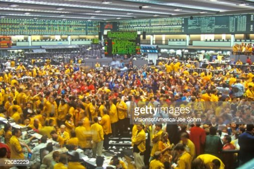 Trading Floor Of The Chicago Mercantile Exchange Chicago