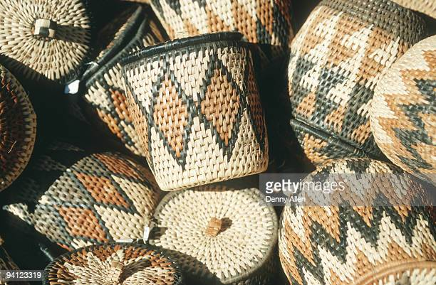 Traditional African woven crafts, Northwest Province, South Africa