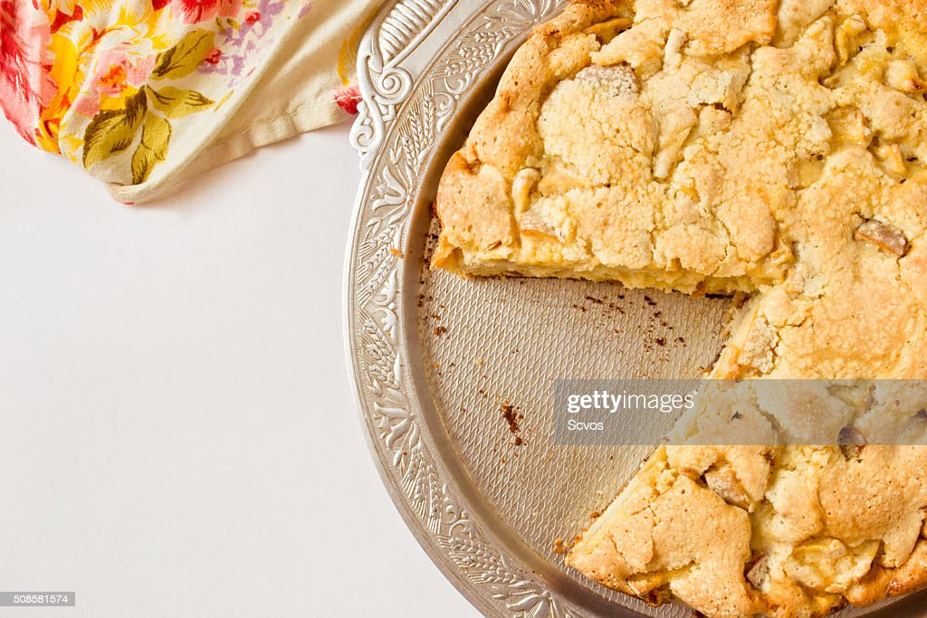 Traditional apple pie : Stock Photo