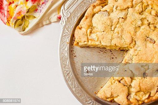 Traditional apple pie : Stock Photo