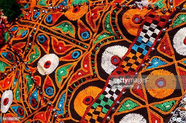 Traditional Artistic Navratri Dressing, Gujarat