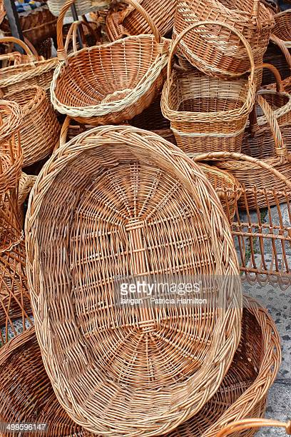 Traditional baskets, Split, Croatia